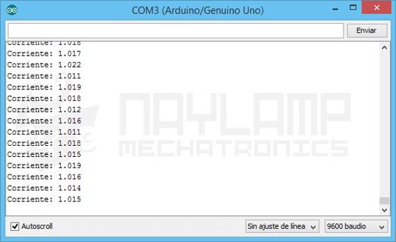 Tutorial sensor de corriente ACS712