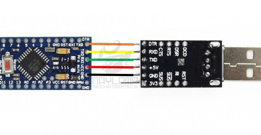 Tutorial: ¿Cómo programar un Arduino Pro Mini 328?