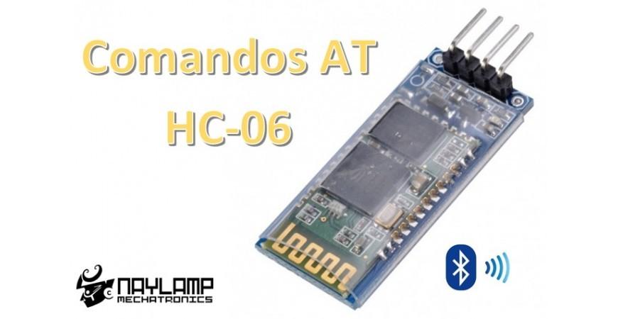 Configuración del módulo bluetooth HC-06 usando comandos AT