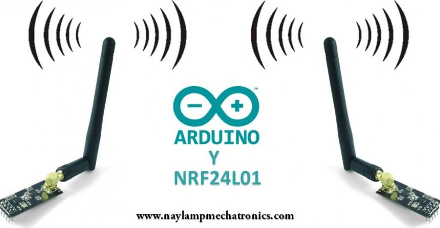 Tutorial básico NRF24L01 con Arduino