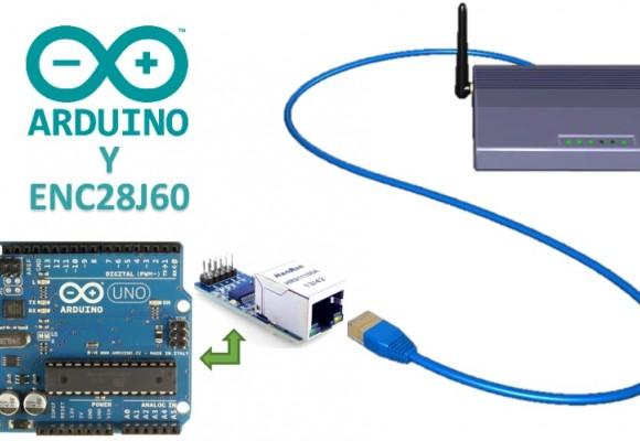 Tutorial Módulo Ethernet ENC28J60 y Arduino