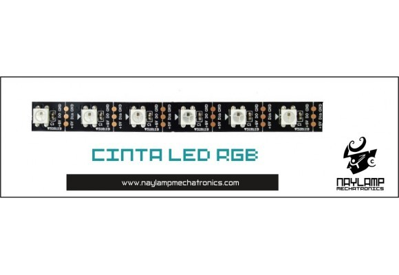 Tutorial cinta LED RGB WS2812B