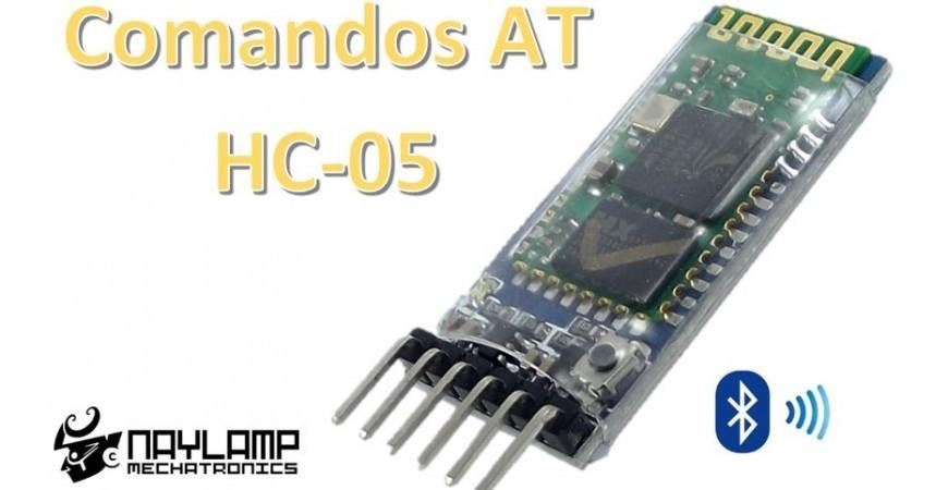 Configuración  del módulo bluetooth HC-05 usando comandos AT