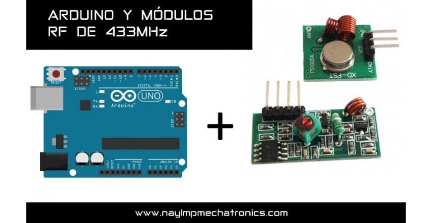 Comunicación Inalámbrica con módulos de RF de 433Mhz