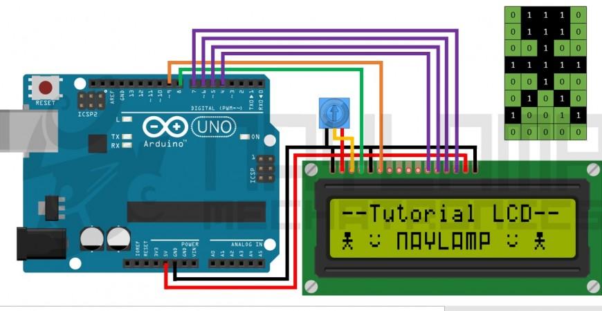 LCD教程,将您的arduino连接到LCD1602和LCD2004