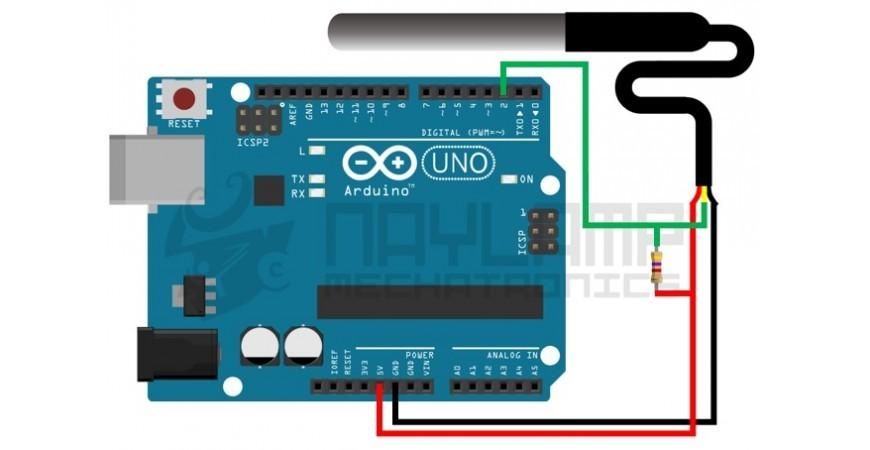 Tutorial sensor digital de temperatura DS18B20