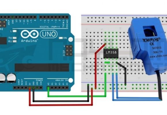 Tutorial sensor de corriente AC no invasivo SCT-013