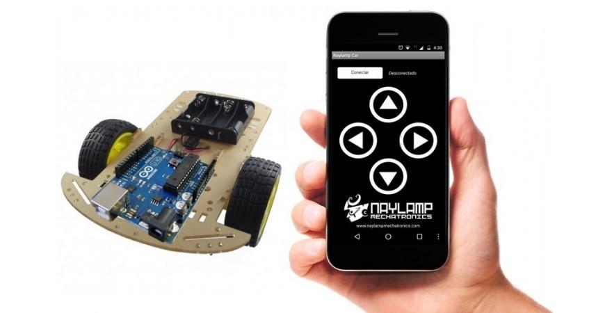 Robot móvil controlado por bluetooth