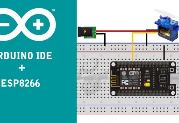 Usando ESP8266 con el IDE de Arduino