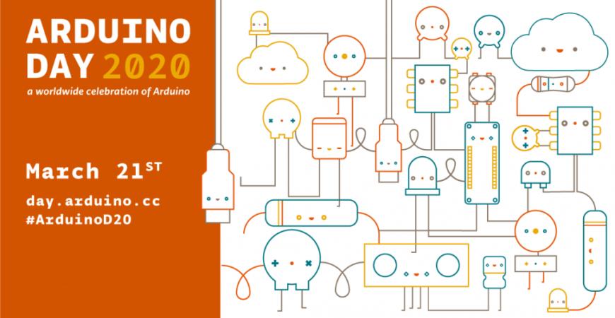 Arduino Day 2020 por Naylamp Mechatronics!